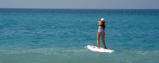 Annabel SUP in Ligurien