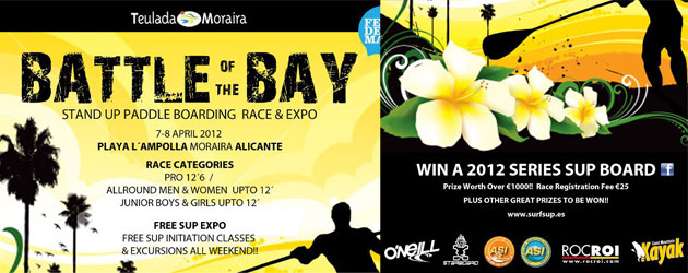 Battle of the Bay SUP race