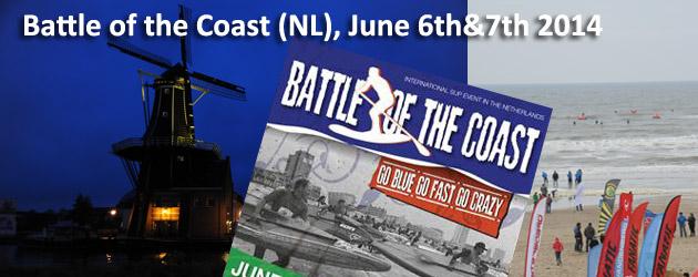 Battle of the Coast 2014 SUP Race