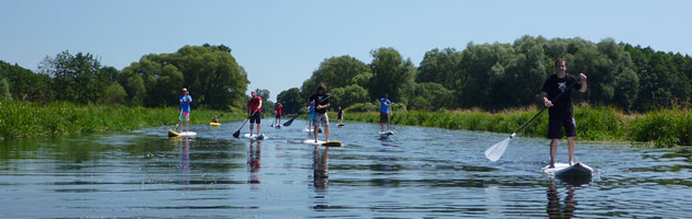 SUP Rental and Courses in Berlin