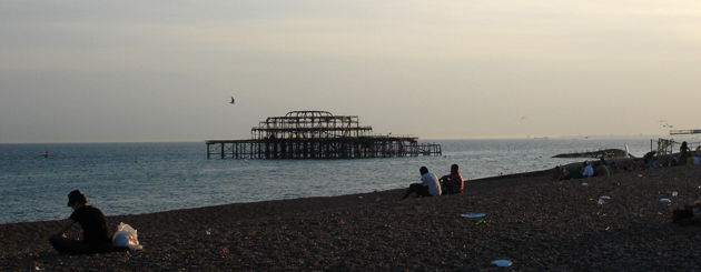 Brighton Paddle around the Pier SUP Race