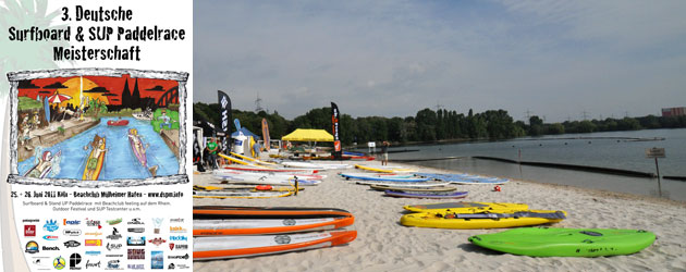 SUP Race in Cologne