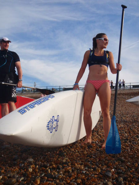 starting with SUP is your first step to a dream body