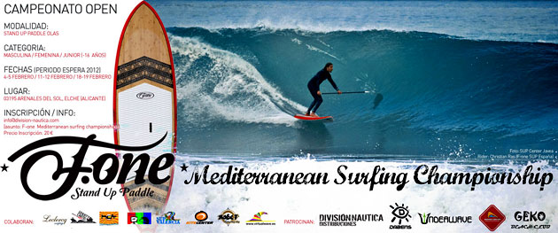 Fone Med SUP surfing Championships