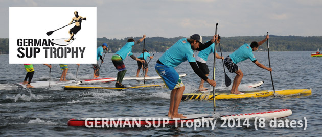 German SUP Trophy 2014 schedule