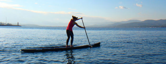 SUP - ideal sport for women