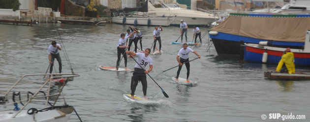 Hobie CIty SUP Race Port Grimaud