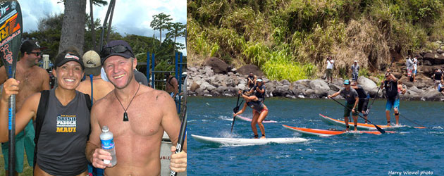 Maui Naish International Paddleboard Race