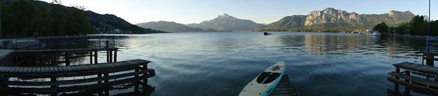 Tahoe Bliss Stand Up Paddle Board on Mondsee