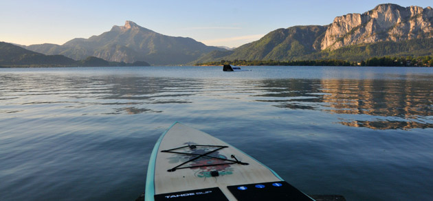 Tahoe Bliss SUP Stand Up Paddle Tour in Austria