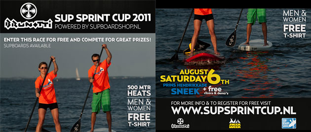 Brunotti SUP Sprint Cup Netherlands