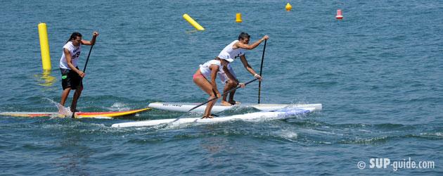 SUP paddle technique