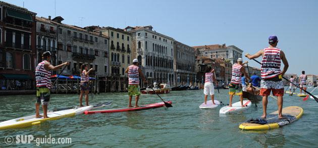 07/09/2011 SUP in Venice – Pietro Fazioli, Corinna Betti ...