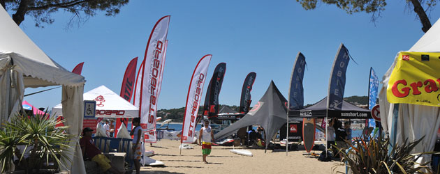 the SUP race cup st. maxime, france