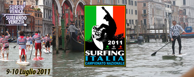 SUP Race in Venice