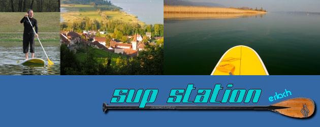 SUP Station Erlach Schweiz Bielersee